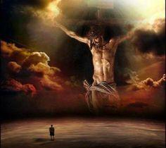 Imagens de Jesus Cristo, com mensagens de reflexão. Leia e reflita, faz bem ao espírito.
