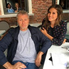 """Dasha Zhukova Roman Abramovich on Instagram: """"MamaPapa in the building! 1st chapter of New Holland: mission completed #newhollandisland…"""""""