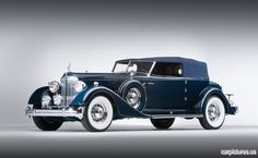 1934 Packard Twelve Convertible Victoria by Dietrich, Inc.