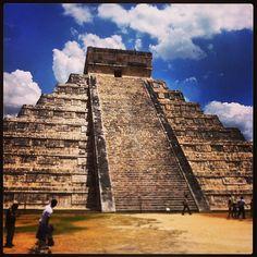 Chichen Itza in Yucatán, Mexico