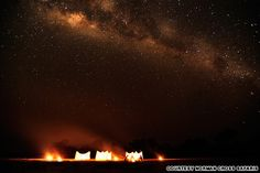The Southern Cross, Zambia This iconic formation in the night sky is best seen from the Southern Hemisphere, and few spots offer better vantage points than on an open-air safari in Luangwa, Zambia. The constellation has appeared in various cultures in various ways, not least with a reference in the Australian national anthem.