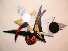 Abstract Art, Wood Sculpture Wall Decor by GalleryatKingston on #Zibbet $100.00