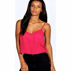 boohoo Nicole V Neck Crop Cami - berry azz24356 Transparent evening tops are everywhere this season. Shake it up in sheer shell tops, panelled shirts and cutting-edge crops. Add attitude in an A line skirt and slinky strappy heels . Statement separ http://www.comparestoreprices.co.uk/womens-clothes/boohoo-nicole-v-neck-crop-cami--berry-azz24356.asp
