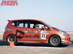 2006 Super Street Time Attack Finals Js Racing 2007 Honda Fit