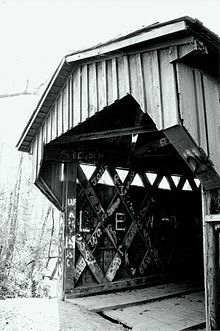 Salem-Shotwell Covered Bridge in Opelika, AL