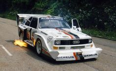 Audi Quattro Pikes Peak. The car that made people realize, AWD is whats up.