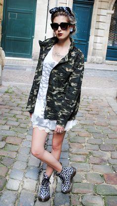 #camo #jacket #fashion