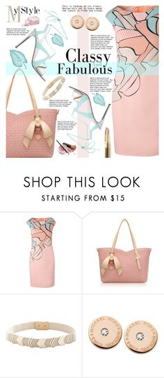 """My Style"" by gabrilungu ❤ liked on Polyvore featuring ESCADA, Michael Kors and Bobbi Brown Cosmetics"