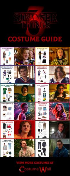 Stranger Things Costume Ideas | Costume Wall