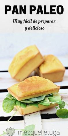 Paleo bread Bread without gluten and without cereals. Very easy - Pan sin Gluten Recetas Paleo Casserole Recipes, Paleo Crockpot Recipes, Real Food Recipes, Vegetarian Recipes, Healthy Recipes, Pan Paleo, Paleo Baking, Chapati, Paleo Zucchini Bread