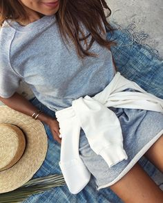 """JULIE SARIÑANA on Instagram: """"When good basics are comfy af. ☁️ @shop_sincerelyjules / now on sale! Shopsincerelyjules.com"""""""