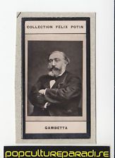 LEON GAMBETTA France Politician 1908 FELIX POTIN CARD