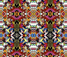 Street Art fabric by whimzwhirled on Spoonflower - custom fabric
