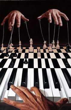 The puppet master and bread and circuses. Who are the disposable pawns?