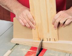 Making dovetail tail cuts using ramps