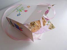 saját gyártású sütis doboz