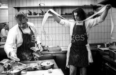 Marco Pierre White & Gordon Ramsay at Harveys.