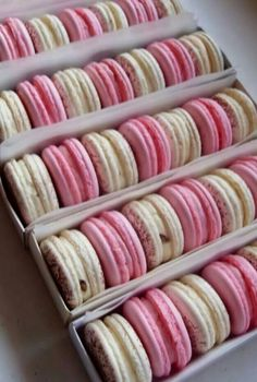 Macarons -- can't get enough of these! So delicious and so French!