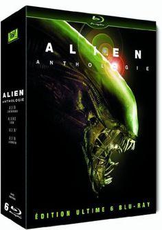 Le Film Alien  Anthologie Coffret 6 Blu Ray  Ridley Scott Fox