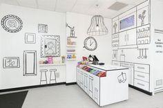 Tienda de caramelos ilustrada :-)