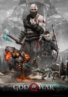"Check out this @Behance project: ""God of War Poster"" https://www.behance.net/gallery/58847699/God-of-War-Poster"
