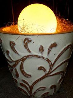 DIY Outdoor Lighting - Outdoor Entertaining Ideas - Good Housekeeping