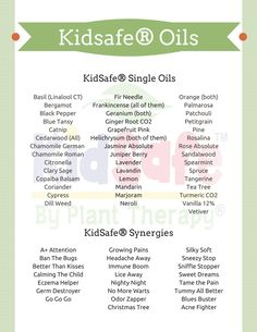 Kids and Essential Oil Safety We all want the best for our kids. In a world where there are so many synthetics and chemicals, it's nice to have the option of using something more natural. However, …