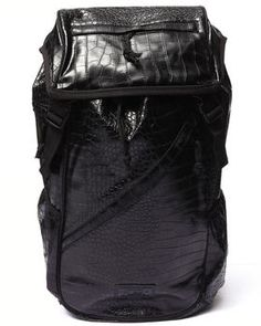 Croco Embossed Tech Bag by FLUD Watches