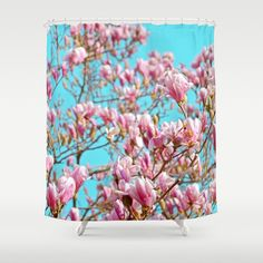 Blossom, flowers, beautiful, colorful... https://society6.com/product/magnolia-slm_shower-curtain?curator=edualpeirano by #Bizzartino on @society6  25%OFF #EVERYTHING #TODAY #PROMO #CODE  LOVEART25  #art