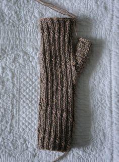 Anleitung zum Armstulpen stricken