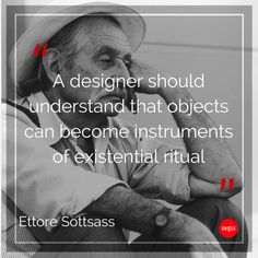 Ettore #Sottsass left us on 31st December 2007. He was #Memphis Group founder. Read the Sottsass Associati's story: http://www.segis.it/us/designers/7/SottsassAssociati/
