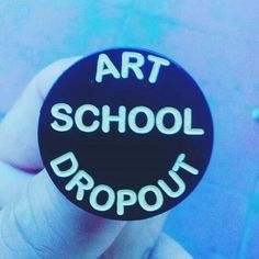 Repost @ghostflights  For all them dropouts out there  & let's face it we all know a few. Pin is $53s&h link in the bio international shipping is a bit much but is available DM me so I can take a few bux off the pin #artschool #art #dropout #artinstitute #lowbrowart #pingame #pingamestrong #enamelpins #enamelpin #lapelpin #hatpins #patchgame #bbllowwnn #shopsmall #supportlocal    (Posted by https://bbllowwnn.com/) Tap the photo for purchase info.  Follow @bbllowwnn on Instagram for the best…