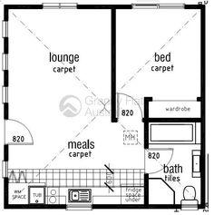 Floor plan for pool house? Garage Renovation, Garage Interior, Garage Remodel, Interior Ideas, Perth, Brisbane, Garage Studio, Garage House, Cabin Floor Plans