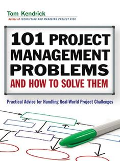 101 Project Management Problems and How to Solve Them: Practical Advice for Handling Real-World Project Challenges, a book by Tom Kendrick PMP Management Books, Business Management, Management Tips, Program Management, 6 Sigma, Project Management Templates, Leadership Development, Professional Development, New Job