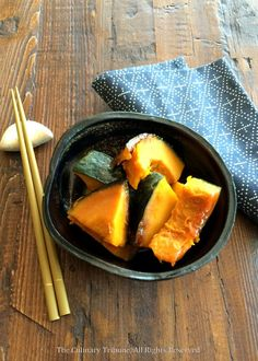 The Culinary Tribune › Kabocha Nitsuke (Japanese Stewed Kabocha Pumpkin)<br> ほくほくかぼちゃの煮付け