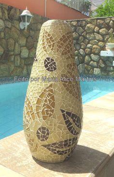 Jarro com mosaico