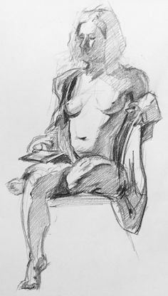 Figure drawing by Thomas Thornberry