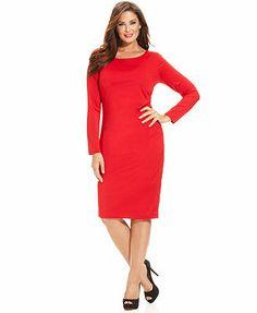 aa09c4c355ee INC International Concepts Plus Size Dress