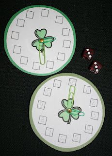 Shamrocks On A Roll Telling Time Dice Game