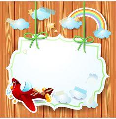 Cartoon Paper Cards vector graphics 04