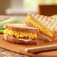 Breakfast Panini from Land O'Lakes