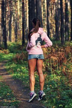 trotar diario 30min...perfect legs