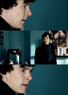 Sherlock. (that blue is gorgeous.. I want to paint something that color.. now)