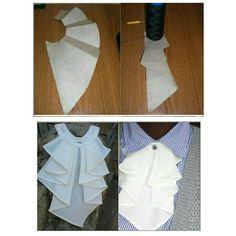 Baby Girl Dress Patterns, Skirt Patterns Sewing, Clothing Patterns, Drape Skirt Pattern, Sewing Ruffles, How To Wear Shirt, Sewing Collars, Kids Dress Wear, Fashion Sewing