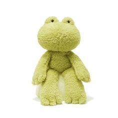 Gund Fuzzy Frog Stuffed Animal GUND http://www.amazon.com/dp/B00711ZIK8/ref=cm_sw_r_pi_dp_niwiwb1P3Z6BJ