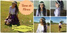 Minha tiara de flores    Vídeo : http://youtu.be/S6zfAwJlfNA