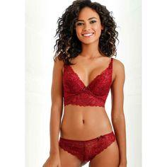 Push-up-BH - rot von LASCANA - LASCANA #lascana #red# #lingerie #lace Bustiers, Push Up, Fashion, Bra Tops, Moda, La Mode, Fasion, Corsets, Fashion Models