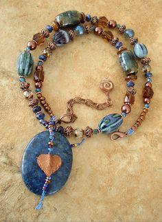 Boho Necklace Southwest Jewelry Cowgirl Bohemian by BohoStyleMe
