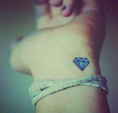 Diamond tattoo..!! :)