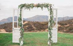 Ceremony Arch Rentals, Vintage Door Rentals & Backdrops in San Diego Outdoor Wedding Doors, Rustic Wedding Reception, Wedding Arches, Reception Ideas, Peony Bouquet Wedding, Wedding Flowers, Wedding Isles, Diy Wedding Video, Rustic Wedding Hairstyles